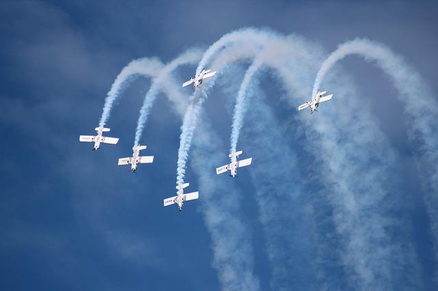 acrobatic plane photo